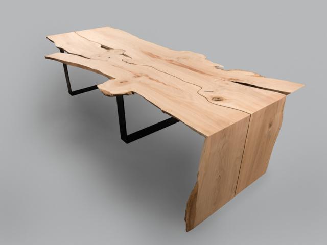 Einzigartiger Kirschenbaumtisch
