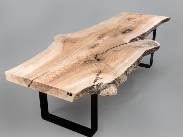 Einzigartiger Kerneschebaumtisch